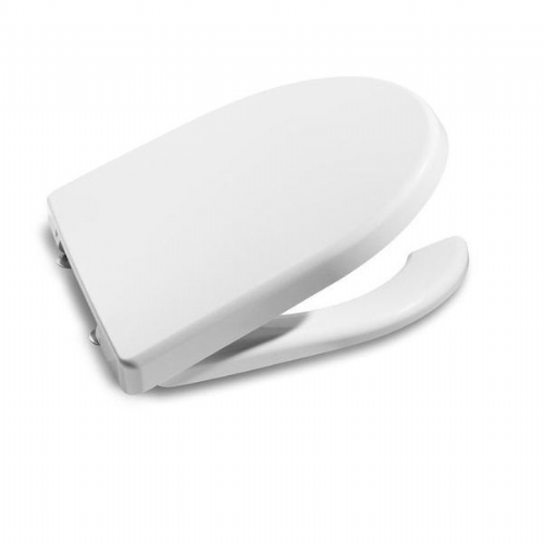 Roca Access Open Ring Toilet Seat With Cover - White
